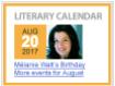 Literary Calendar