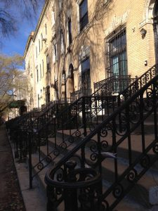 Harlem Brownstones on Striver's Row