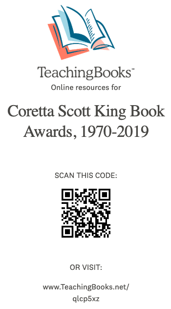 Coretta Scott King Book Awards Bookmark