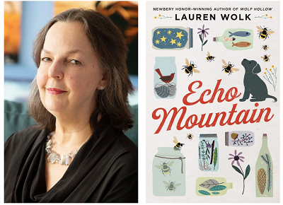 Author Lauren Wolk and her novel Echo Mountain