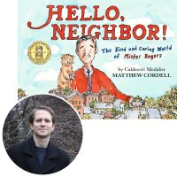 Matthew Cordell and cover of Hello, Neighbor
