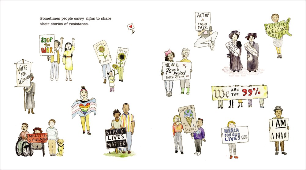 Tessa Allen on Sometimes People March | The TeachingBooks Blog
