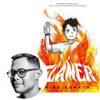 Mike Curato and the cover of Flamer