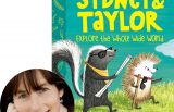 Jacqueline Davies and the cover Sydney and Taylor Explore the Whole Wide World