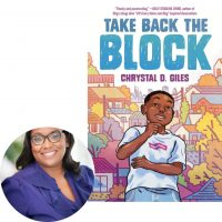 Chyrstal Giles and the cover of Take Back the Block