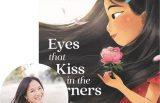 Joanna Ho and the cover of Eyes that Kiss in the Corners