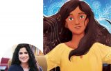 Hena Khan and the cover of Amina's Song