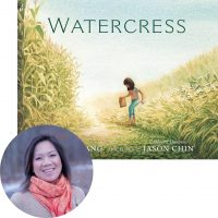 Andrea Wang and the cover of Watercress