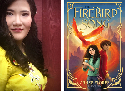 Arnee Flores and the cover of The Firebird Song.