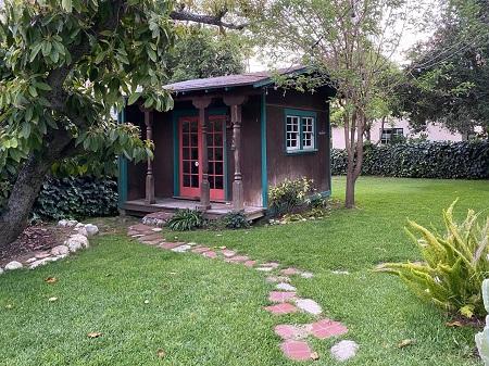 Marla Frazee's backyard studio.