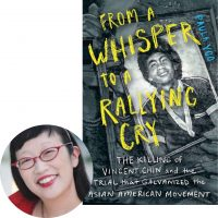 Paula Yoo and the cover of From a Whipser to a Rallying Cry