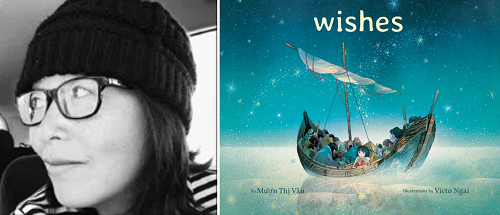 Mượn Thị Văn and the cover of Wishes