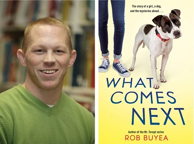 Rob Buyea and the cover of What Comes Next