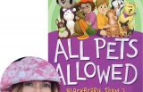 Adele Griffin and the cover of All Pets Allowed
