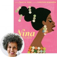 Traci Todd and the cover of Nina